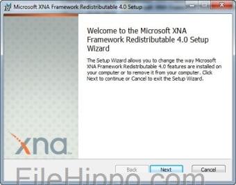Microsoft XNA Framework Redistributable