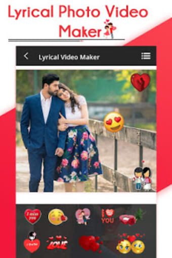 Lyrical Photo Video Movie Maker with Music