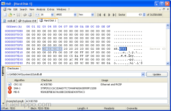 Download HxD Hex Editor 2 2 0 0 for Windows - Filehippo com