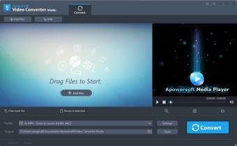 Apowersoft Video Converter Studio