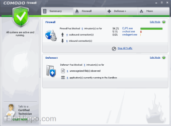 comodo firewall standalone installer download
