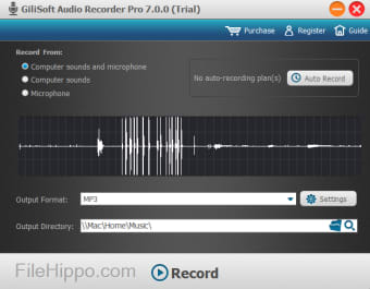 Download Gilisoft Audio Recorder Pro 8 2 0 for Windows