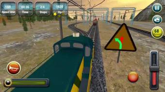 Indian Train Racing Games 3D
