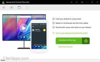 Download Apowersoft Android Recorder 1 2 4 1 for Windows - Filehippo com