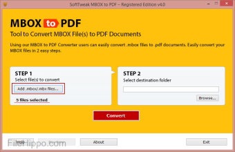 Download SoftTweak MBOX to PDF 4 0 for Windows - Filehippo com