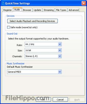 Download QuickTime Lite 4 1 0 for Windows - Filehippo com