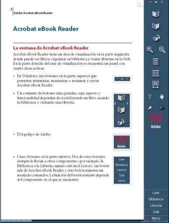 Adobe Acrobat eBook Reader