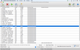 Switch Audio Converter for Mac