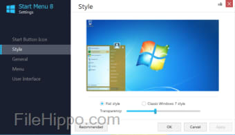 Download Start Menu 8 4 6 0 1 for Windows - Filehippo com