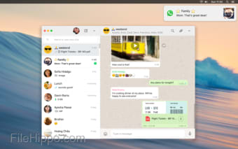 Download WhatsApp Messenger for Mac 0 3 3330 for Mac - Filehippo com