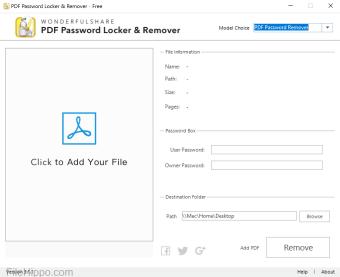 PDF Password Locker and  Remover