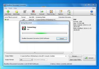 Doxillion Free Document Converter