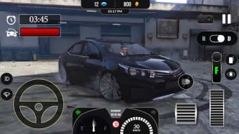 Car Traffic Toyota Corolla Racer Simulator