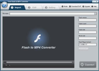Free Flash to MP4 Converter