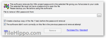 Remove VBA Password