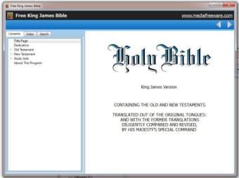 Free Kings James Bible