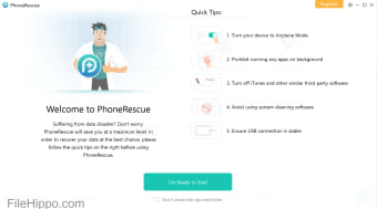 Download PhoneRescue for IOS 3 7 0 for Windows - Filehippo com