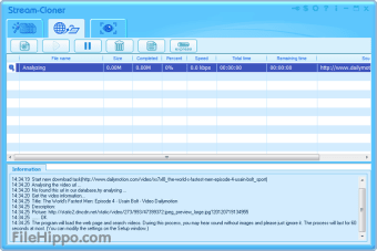 Download Stream-Cloner 2 50 for Windows - Filehippo com