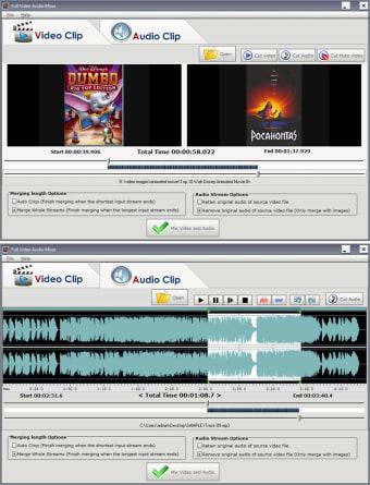 Full Video Audio Mixer