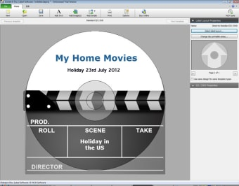 Disketch CD Labeling Software