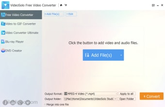 VideoSolo Free Video Converter