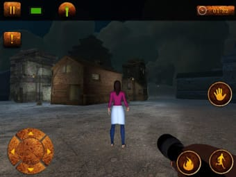 Evil Haunted Ghost  Scary Cellar Horror Game
