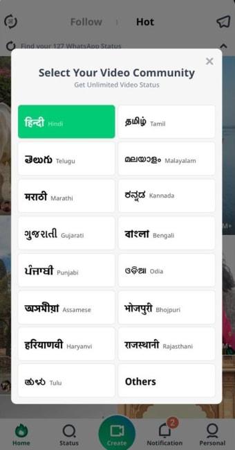 VidStatus app