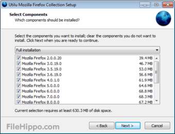 Descargar Utilu Mozilla Firefox Collection 1 1 9 1 para Windows