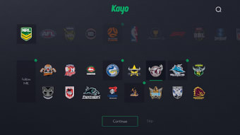 Kayo Sports - for Android TV