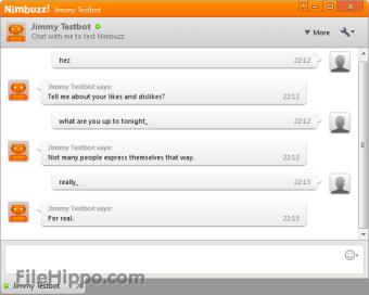 Nimbuzz web chat login