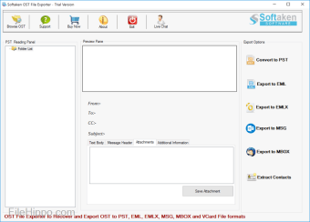 Softaken OST File Exporter
