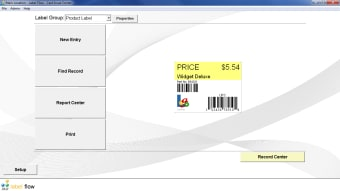 Label Flow Free Barcode Label Printing Software