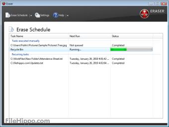 Download Eraser 6 2 0 2982 for Windows - Filehippo com