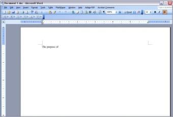Microsoft Word Web Browser